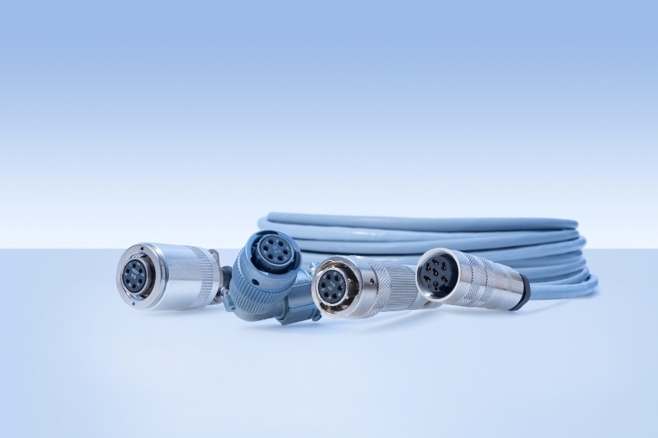 Force transducer cables