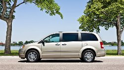 Chrysler Group Unveils Security and Safety Systems in 2010 Chrysler Town & Country