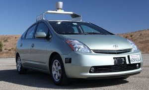 Hi-Tech Self-Driving Cars from Google
