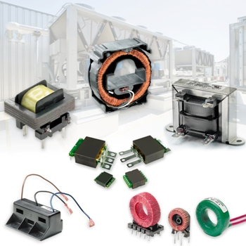Custom Power and Current Sense Transformers from Standex-Meder for HVAC/R Applications