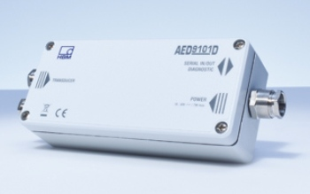 The new digital AED9101D transducer electronics enable rapid operational readiness for weighing technology applications.