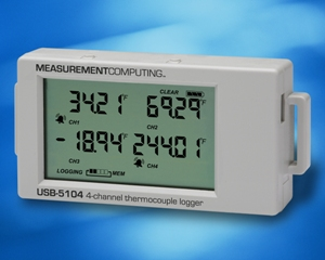 Measurement Computing Releases New Stand-Alone Thermocouple Data Logger