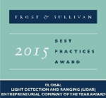 Quanergy Wins Frost & Sullivan Award for Developing Innovative LiDARs
