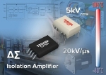 Toshiba Launches Optical Coupled Isolation Amplifiers with Delta-Sigma AD Converter