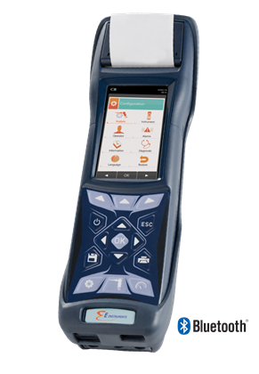 Automatic Data Logging with the New E4500 Portable Emissions Analyzer
