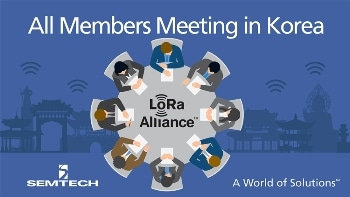 Semtech to Showcase LoRa Wireless RF Technology at All Members Meeting in South Korea