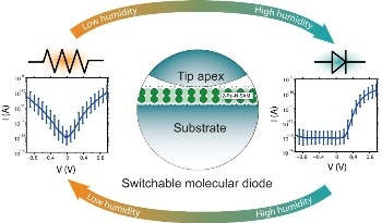 Researchers Develop the First Switchable Molecular Diode