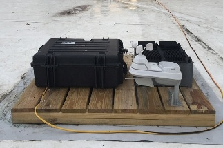 System to Draw Power from Temperature Fluctuations