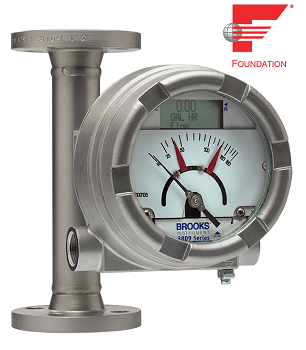Brooks Instrument Adds FOUNDATION™ Fieldbus Transmitter to Its MT3809 Series Variable Area Flow Meters