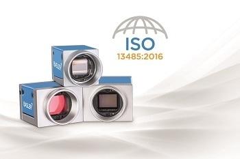 DIN EN ISO 13485:2016 for New Basler MED ace Camera Series for Medical & Life Sciences