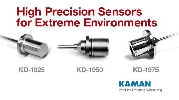Kaman Measuring Announces Extreme Environment Displacement Sensors and Systems for High Pressure, Low Temperature, and High Temperature Applications
