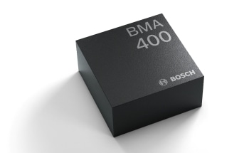 Ultra-Low Power Accelerometer BMA400 from Bosch for IoT and Wearables Available Through Distribution