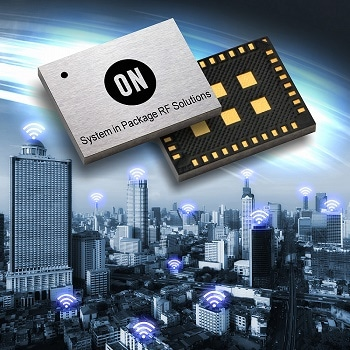 ON Semiconductor announces industry's first CE certification for Sigfox verified RF system-in-package solution