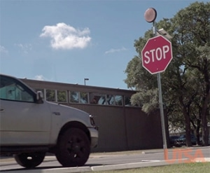 New Smart, Cost-Effective Stop Sign to Increase Driver Safety