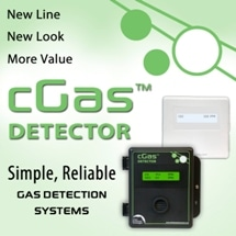 Smart. Flexible. Economical. Introducing the cGas Detector. Let's Plug & Play!