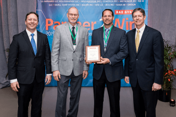 Electrochem Receives Gold Supplier Award from BAE Systems!