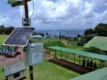 Innovative Sensor Network Monitors 'vog' in Hawai'i
