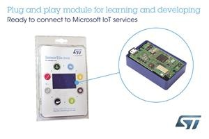 STMicroelectronics Develops IoT Sensing Accessible with IoT Plug and Play
