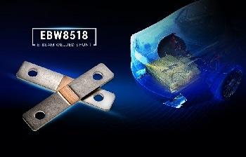 TT Electronics Debuts EBW8518 Busbar-Mounted Shunt Resistor for High Current Measurements in the Hundreds of Amps Range
