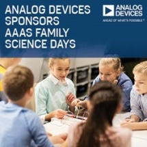Analog Devices Sponsors AAAS Family Science Days