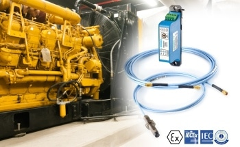 Sensonics Proximity Probes Prove Ideal Solution for Monitoring Engine Performance