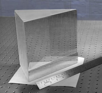 Large Prisms for Demanding Spectroscopic Applications