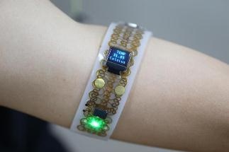New Multifunctional Electronic Platform for Seamless Integration with Human Skin