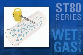 New Sensor Design Solves Wet Gas Flow Measurement Problems