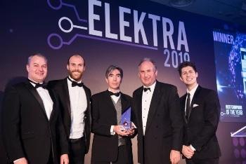 Nanusens Wins its Third Award of the Year at the 2019 Elektra Awards