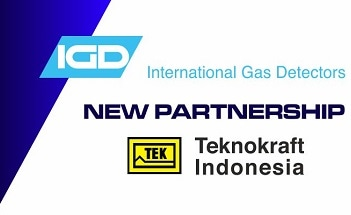 International Gas Detectors Announces New Partnership with Teknokraft Indonesia