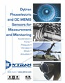 New Commercial Catalog of Piezoelectric and DC MEMS Sensors From Dytran Instruments