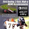 Analog Devices Unveils First-of-its-Kind Analog 3-Axis, High-g MEMS Accelerometer
