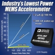 New Low-Power 3-Axis, Digital MEMS Accelerometer from Analog Devices