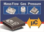 New Universal Sensor Interface for Flow, Gas, and Pressure Sensors from iC-Haus