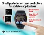 Tiny Push-Button Reset Controllers for Power-Sensitive Applications from TI