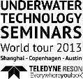 """World Tour 2013 - """"Underwater Technology Seminars"""" - Launched by Teledyne RESON"""
