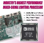 Analog Devices Introduces High-Performance Mixed-Signal Control Processor