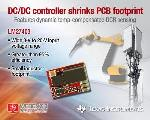 TI Unveils Analog DC/DC Step-Down Controller with Dynamic Temperature-Compensated Inductor Current Sensing