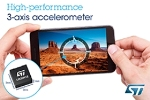 STMicroelectronics Unveils High-Performance MEMS Accelerometer for Portable Devices
