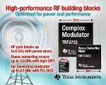 Texas Instruments Expands RF Portfolio with Introduction of New Devices