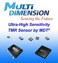 MDT Launches New Range of High-Performance, High Sensitivity TMR Linear Magnetic Field Sensors