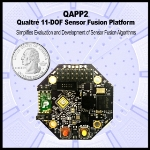 Qualtré Introduces MEMS Sensor Evaluation Platform with 11 Degrees of Freedom