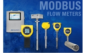 FCI Now Offers Industry's Widest Selection of Modbus Compatible Thermal Mass Flow Meters