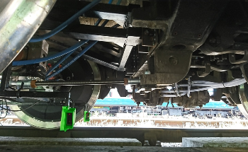 Laser Triangulation Sensors from Micro-Epsilon Measure Lateral Position of Rail Bogie Wheels Relative to the Track in Groundbreaking Actiwheel Project