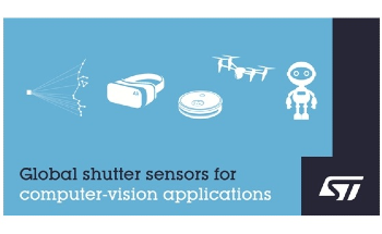 STMicroelectronics Powers Next-Generation Computer-Vision Applications with High-Performance Global-Shutter Image Sensors