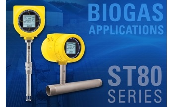 FCI ST80 Thermal Flow Meter Optimized for Biogas Applications