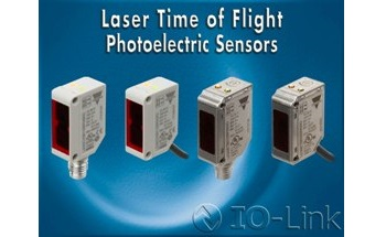Laser Time of Flight Photoelectric Sensors with IO-Link