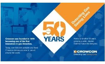 Crowcon Celebrates 50th Birthday