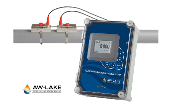 AW-Lake Introduces Clamp-on Ultrasonic Flow Meters that Install on the Outside of Pipes Without System Shutdown, Flow Obstruction or Pressure Drop