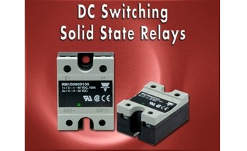DC Switching Solid State Relays - Low Power Dissipation and High Switching Frequency
